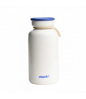 Insulated Bottle 450 ml, white, Mosh!