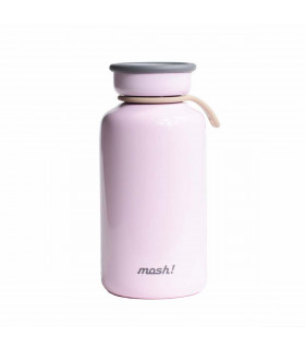 Insulated Bottle 450 ml - Stainless Steel, Pink