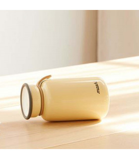 Insulated Bottle 450 ml - Stainless Steel, Ivory