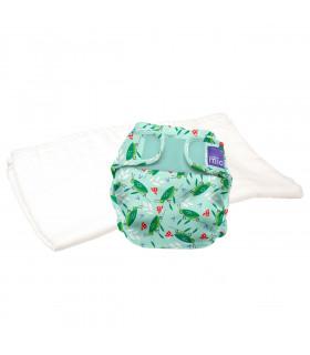 Pack d'essai couche lavable te2 motif sacré sauterelle Bambino Mio