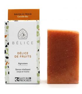 Savon solide à froid Délice de fruits Bélice