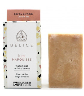 Bélice marquesas islands soap bar for dry skin