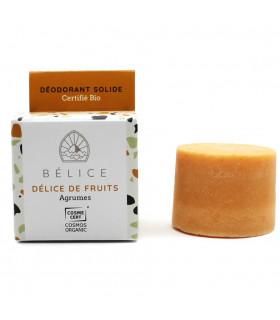 Belice orange fruit delight deodorant bar