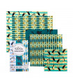 Beeswax Food Wrap – The Family Pack – Ocean