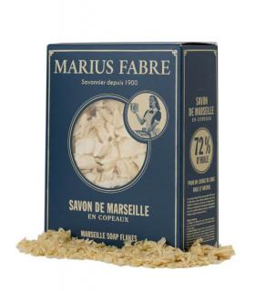 Carton de copaux de savon de Marseille 750g Marius Fabre