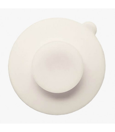 Love Mae Bear white suction cup for bowl