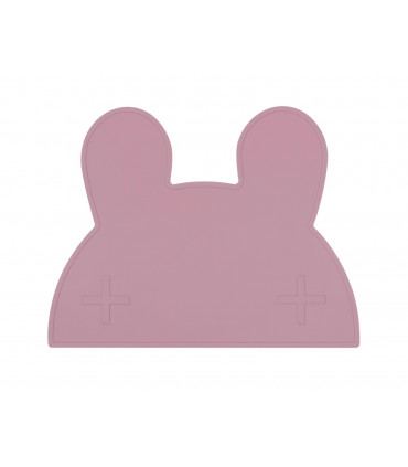 We might be tiny Dusty rose silicone bunny kids table set