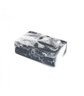 Foamy organic clémence et vivien black colored l'Emir bar soap