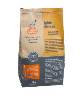Kraft bag of 1kg citric acid