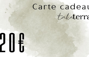 Carte cadeau Takaterra 20€