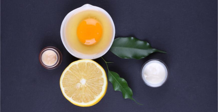 Recettes de masques pour visage et cheveux maison à base d'œuf